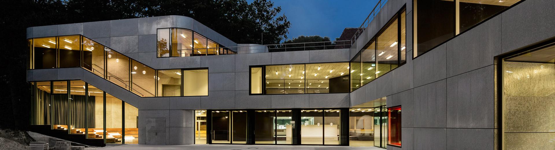 Applications | Hot-dip galvanized façades
