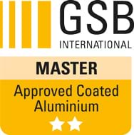 Powder Coating of Aluminium in accordance with GSB International quality regulations